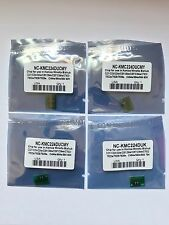 4 x Drum Chip for Konica Minolta Bizhub C224 C284 C364 C454 C554 7822 C221 DR512
