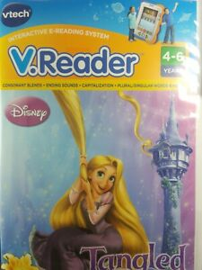 Disney Tangled, vtech, 4-6 yrs, Reading Activities, Games and Story Dictionary