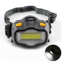 Mini Waterproof COB LED Headlamp 3 Modes Camping Flashlight Frontal Head Torch