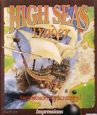 High Seas Trader PC CD regain fame fortune boat captain adventure strategy game!