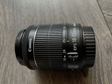 Canon EF-S 18-55 mm f/3.5-5.6 is STM objetivamente