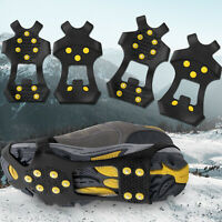 Shoes Boot Overshoe Anti Slip Spike Cleat Crampon Ice Snow Grip Climbing Gripper