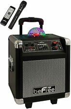 Befree Sound Projection Party Light Dome Bluetooth Dj Pa Speaker with Remote Mic