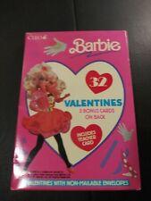 Vintage 1991 Barbie Valentine Cards - Open Box