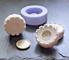 3D Silikonform Autoreifen / Fondant Schokolade Eis / Tortendekor / Seifenform