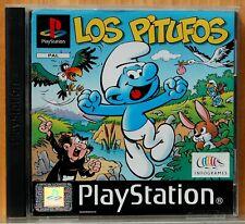 LOS PITUFOS - PLAYSTATION 1 - PAL ESPAÑA - COMPLETO