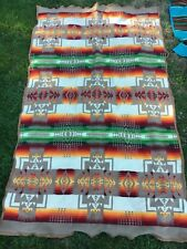Pendleton Blanket, Beaver State, Measures About 42x72� Vivid Colors! Check Pics!