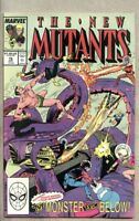 New Mutants #76-1989 nm- 9.2 Marvel X-Factor X-Men The Horn of Doom
