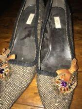 PRADA Kitten 100% Leather Heels for Women