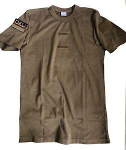 BW Tropen T-Shirt Unterhemd Nationalitätsabzeichen Bundeswehr BW Polizei, Shirt