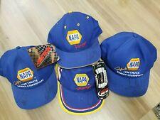 Napa Auto Parts Caps. 4 caps Autographed, Napa Auto Parts Racing. New caps.