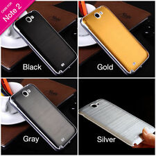 Luxury Aluminum Housing Battery Door Back Hard Cover Case Skin For Samsung