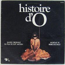Histoire d'O  Pierre Bachelet Just Jaeckin 33 tours 1975