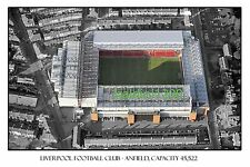 Liverpool Football Club ANFIELD Stadium Looks Awesome Framed