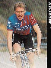 AXEL MERCKX cyclisme carte card Cycling Ciclismo Team Motorola 96