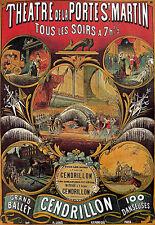 Art Poster - Grand Ballet 100 Dances - French  A3 Print