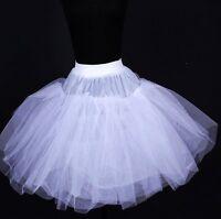 Flower Girls Wedding Communion 3 layer Net Mini Adult Petticoat Tutu Party Slip