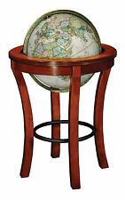 "Replogle Garrison National Geographic World Globe 16"" Antique. Brand New!"