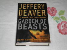 Garden of Beasts by Jeffrey Deaver - 1st UK   *SIGNED*