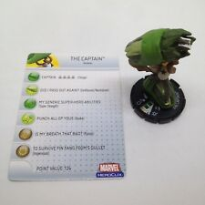 Heroclix Giant Size X-Men set The Captain #054 Super Rare figure w/card!
