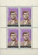 Timbres Personnages Kennedy Centrafrique BF3 * lot 21781