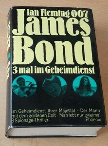 Agent 007 James Bond, 3 mal im Geheimdienst, Ian Fleming, 3in1 Sonderausgabe!