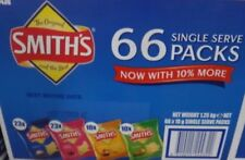 1x Smith's Crinkle Cut Variety Box - 66 Count X 19 G
