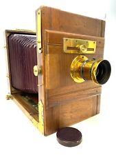 Reisekamera Holzkamera 25 x 18 x 9 um 1890 Che Elliot's London