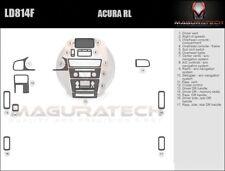 Fits Acura RL 4DR 1996-1998 No Navigation Large Deluxe Wood Dash Trim Kit