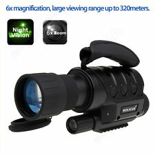 650D+ Night Vision Goggles Monoculars IR Surveillance Camera Cam+CR123A Battery