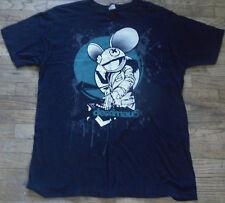 Deadmau5 Mens Medium Officially Licensed Cotton T-Shirt DJ Deadmaus XL