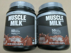 PRO SERIES MUSCLE MILK KNOCKOUT CHOCOLATE PROTEIN POWDER SUPPLEMENT CASE OF 2