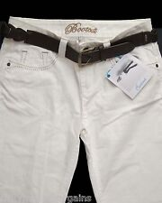 New Womens White Cream Bootcut NEXT Jeans Size 18 Long RRP £30