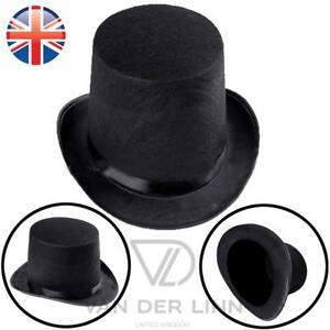 *UK Seller* MEDIUM Top Hat Victorian Lincoln Magician Mad Hatter Fancy Dress