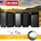 Solar Power Bank Foldable Battery Charger 2000000mAh External Battery Pack USA