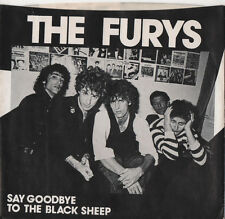 "THE FURYS Say Goodbye to the Black Sheep 7"" vinyl 1978 PUNK MASTERPIECE."