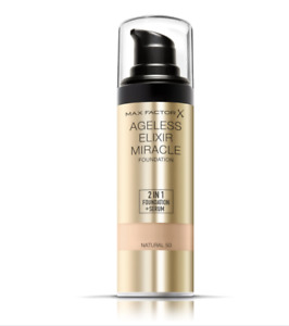 Max Factor Ageless Elixir Miracle 2 in 1 Foundation + Serum Shade 50 NATURAL