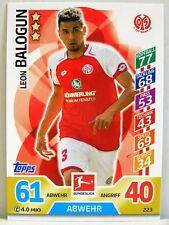 Match Attax 2017/18 Bundesliga - #223 Leon Balogun - 1. FSV Mainz 05