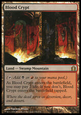 MTG BLOOD CRYPT FOIL EXC - CRIPTA DI SANGUE - RTR - MAGIC
