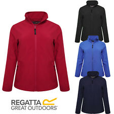 REGATTA WOMENS SOFTSHELL JACKETS WATER REPELLENT WIND RESISTANT COATS SIZE 10-20
