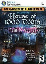 House of 1000 Doors: Family Secrets -- Collector's Edition (PC, 2012)