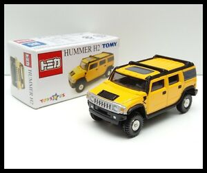 TOMICA TOYS R US HUMMER H2 1/67 TOMY TOY DIECAST CAR 15 YELLOW NEW A