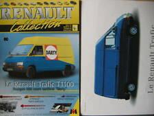 FASCICULE  60 RENAULT COLLECTION TRAFIC T 1100 AVEC INSERT