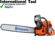 "HUSQVARNA 2-STROKE PETROL CHAINSAW 24"" BAR & CHAIN  88cc 390XP"