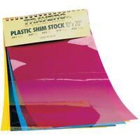 "TTC PSS10A 10"" x 20"" Plastic Sheet Shim Stock Set"