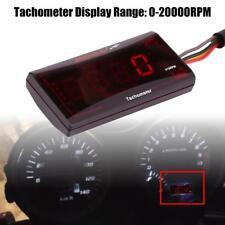 Universal Motorrad Instrument LED Digital Tachometer 0-20,000RPM Geschwindigkeit