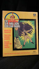 Kenner The Six Million Dollar Man painting NEW !