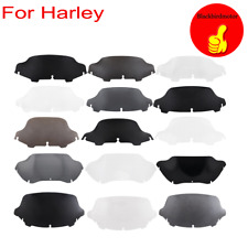 """4.5"""" 6"""" 7"""" 8"""" 9"""" 10.5"""" 12.5"""" 13"""" Wave Windshield Fit for Harley Touring  Glide"""