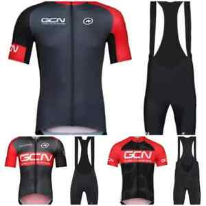 GCN Pro Team Men's Cycling Jersey with Shorts Bib Suit Road Cycling 3 Designs