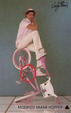Woody Itson Miami Hopper sticker Hutch Trickstar Oldschool Bmx